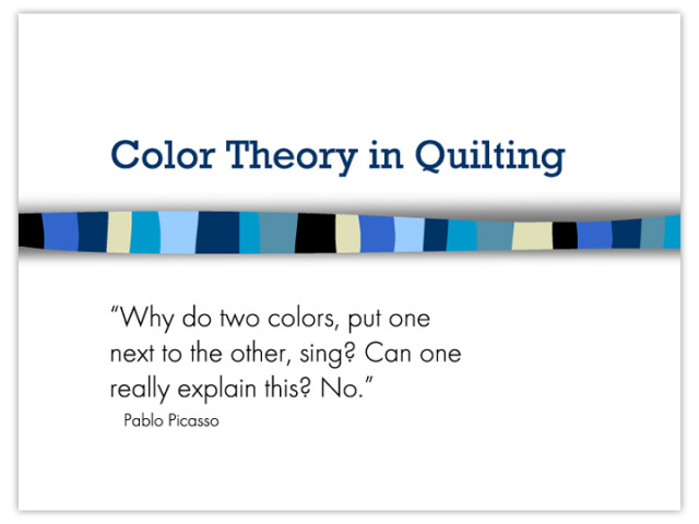 ColorTheory&Quilts