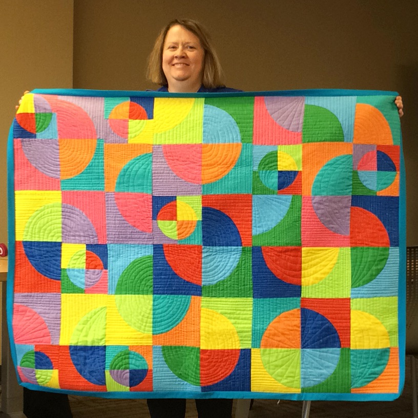 Cathy Rogers Circle Color Quilt