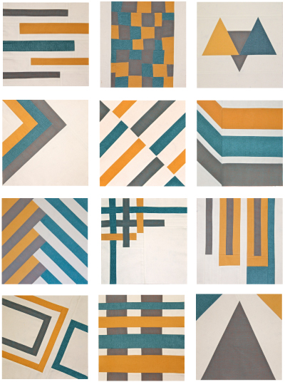 Block of the month 2016 boise modern quilt guild for Modern house quilt block