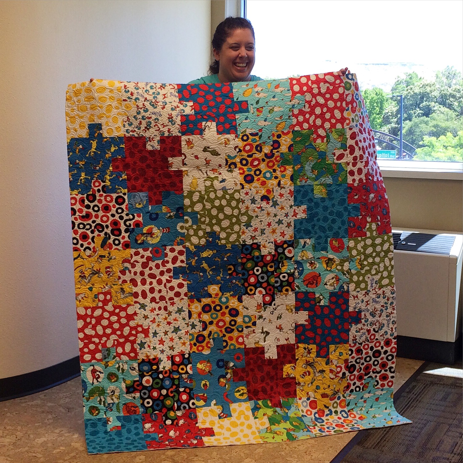 Autism Puzzle Piece Quilt Pattern Richard And Tanya Quilts