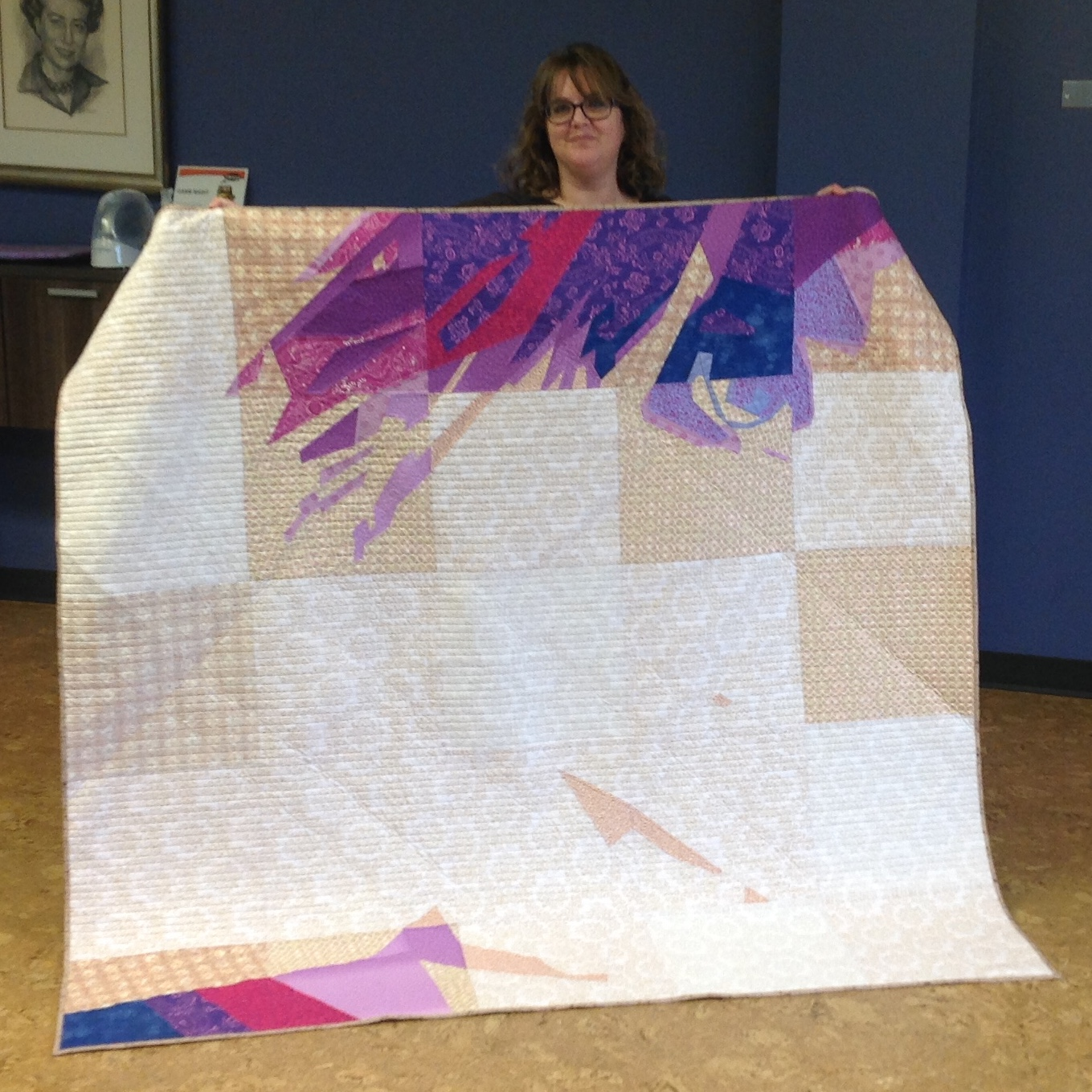 Angela Quilt Self Portrait