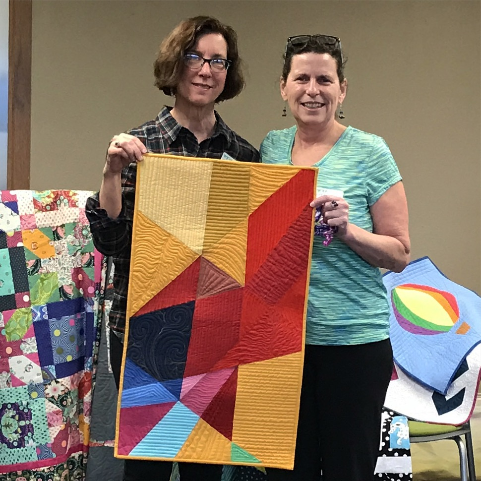 Linda Quilt To Tracy
