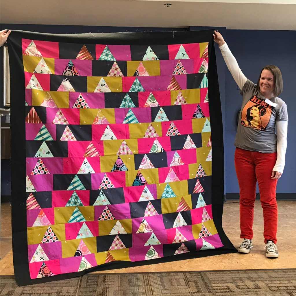 quilt top by Sally